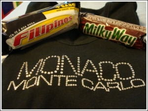 Filipinos Candy bar