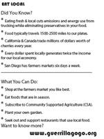 Guerrilla Go Go » Blog Archive » Eat Local!