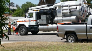 Sewer Truck